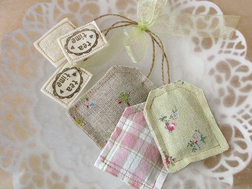 Tea bag sachets