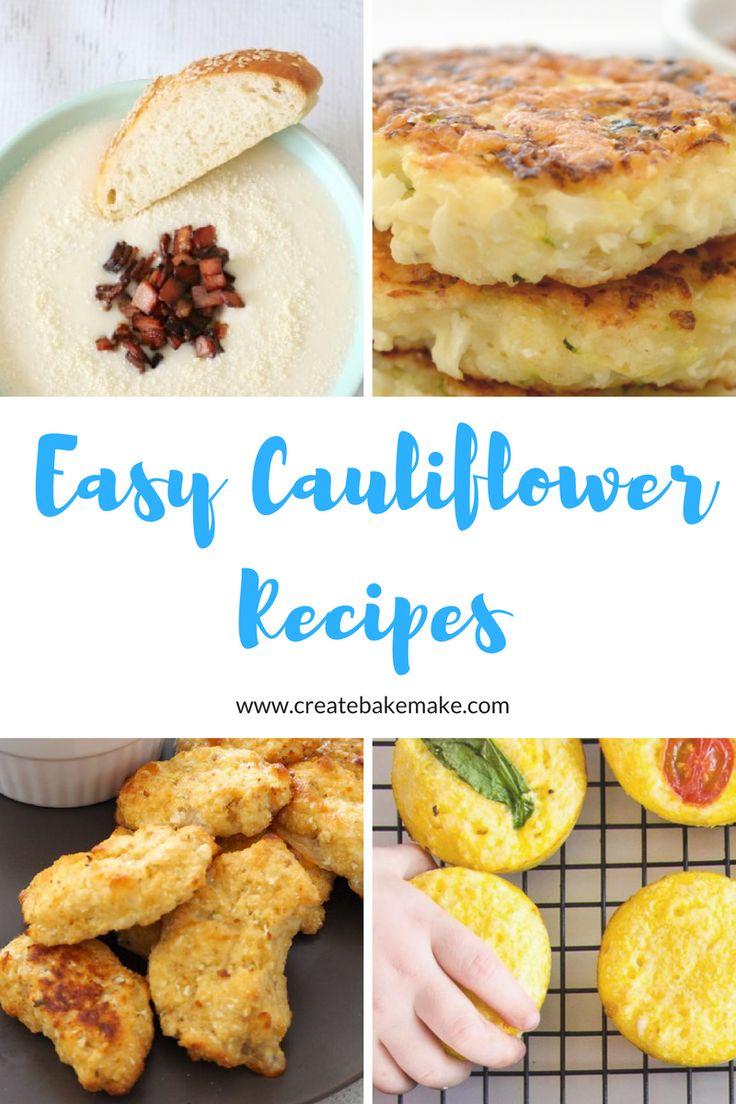 Easy Cauliflower Recipes