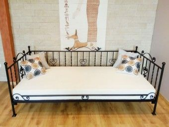 Kovová postel model 4 S