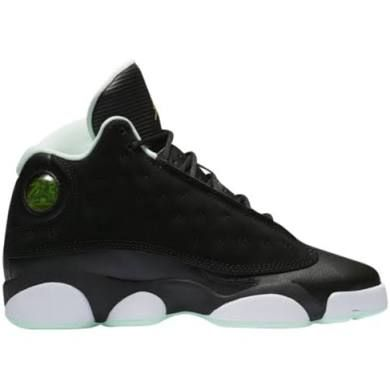 designer fashion f1d41 9ffd1 Jordan Retro 13 - Girls Grade School Basketball Shoes Black Size 7