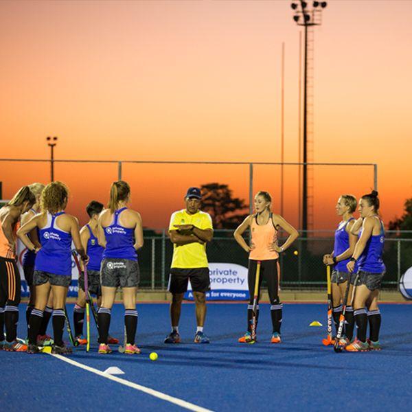 The SA Women's Hockey team.