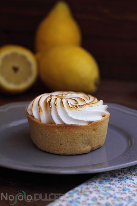Estas tartaletas de limón te encantarán porque son muy frescas. Esta versión francesa de la Lemon pie es muy delicada gracias a la masa dulce de almendras.