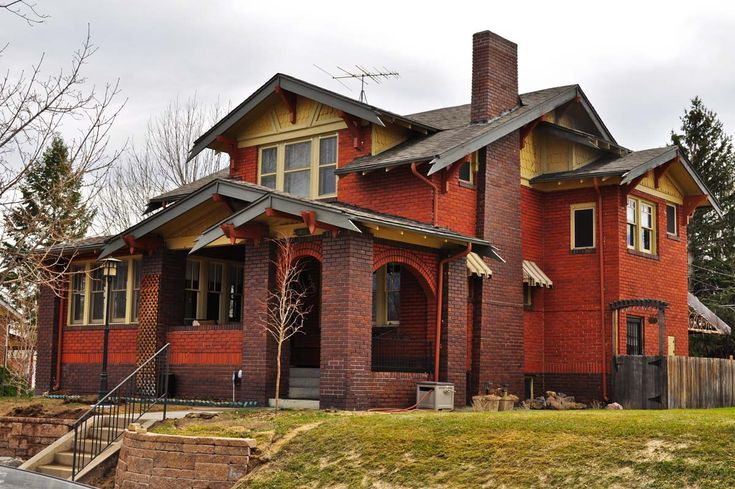Denver 39 s single family homes by decade 1920s for Single family home styles