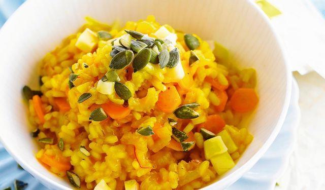 Posypte ho semienkami: Šafranové rizoto s mrkvou | DobreJedlo.sk