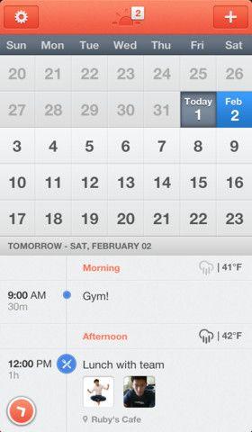 Sunrise Calendar.