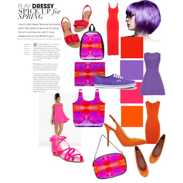 """""""Spicy Purple, hot pink and neon orange tie dye""""  bags by khoncepts.com  #womensbags #womensaccessories"""