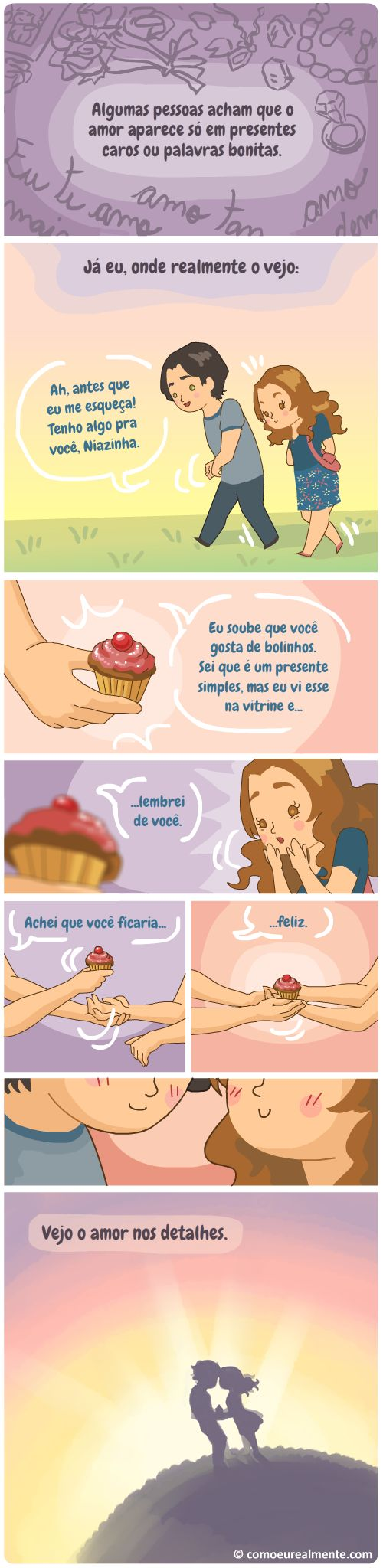 Amor (Especial Dia dos Namorados pt. 6). Como Eu Realmente. Fernanda Nia. Blog, 11-06-2015.