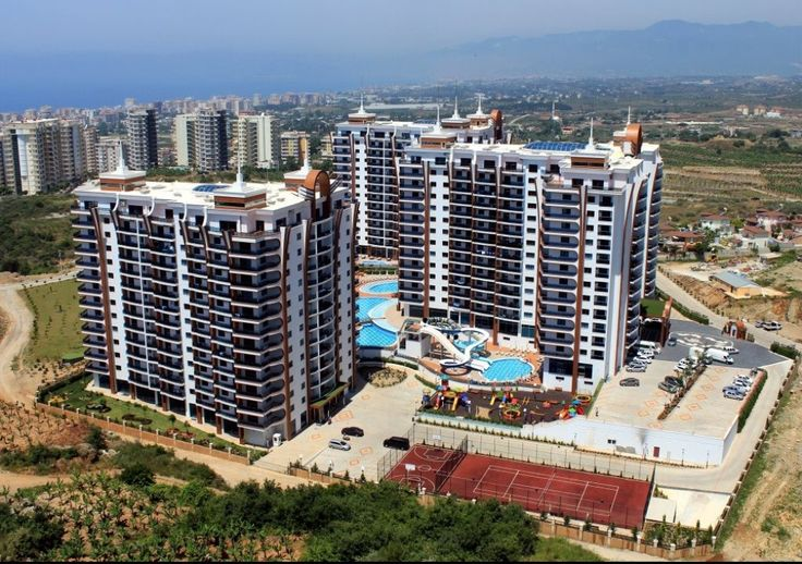 Apartment is located in a luxury complex in Mahmutlar,Alanya, 1200 meters to the beach, 6 km to Alanya city centre. 1 bedroom apartment is 71 m2 with open plan kitchen living room, 1 bathroom and balcony.