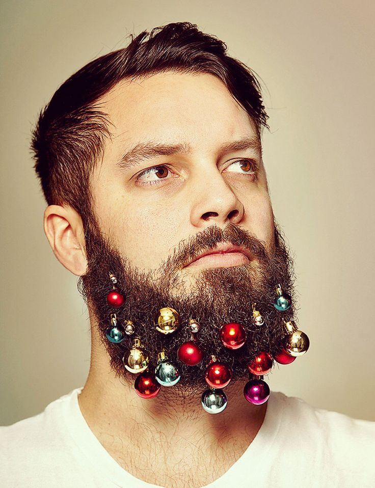 This will be my husband if he keeps growing his beard!