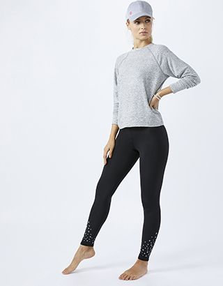 Be a goal-getter in our reflective star leggings from the Spirit of Accessorize collection. This full-length pair features a stretch waistband and concealed ...