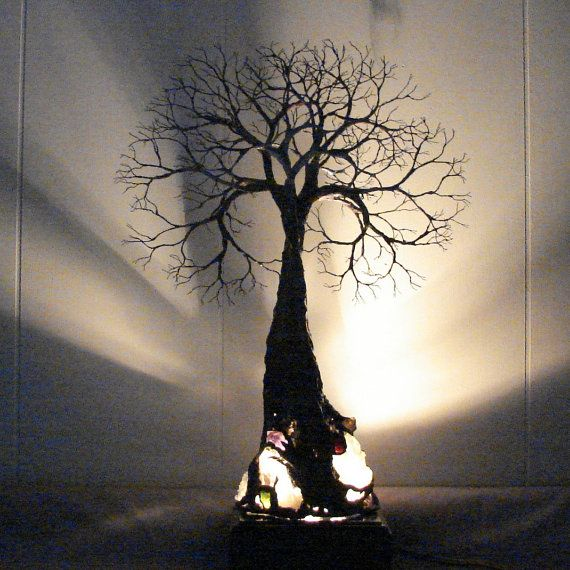 Wire Tree sculpture Tree Of Life Grand Old Tree by CrowsFeathers Sold