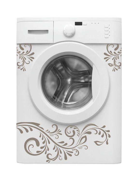 Stickers pour machine à laver  Comment relooker sa machine à laver : 3 idées géniales !   http://www.homelisty.com/comment-relooker-sa-machine-a-laver-3-idees-geniales/