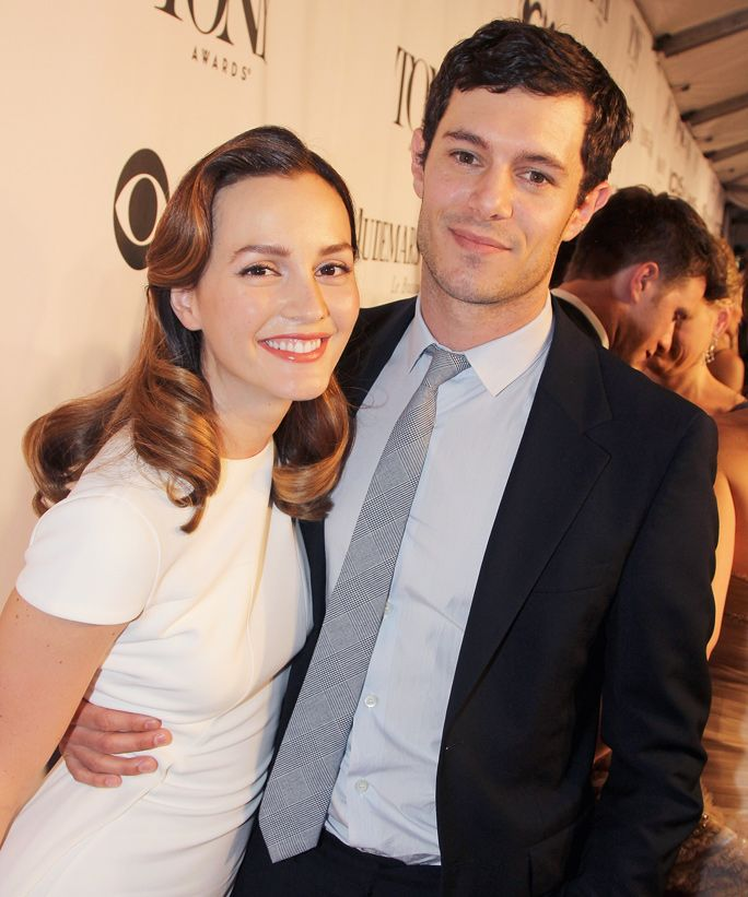 10 Celebs Who Married Their Co-Stars - Leighton Meester and Adam Brody from InStyle.com