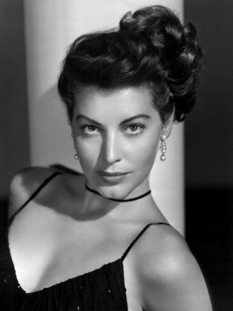 """To me, Ava Gardner is the most beautiful woman in film history. Sometimes I wish I looked like her!  """"I have only one rule in acting. Trust the director and give him heart and soul."""" - Ava Gardner"""