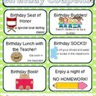 This 8 pages PowerPoint is customizable for each student in your class to celebrate birthdays.  This pack includes:* Student birthday book cover...