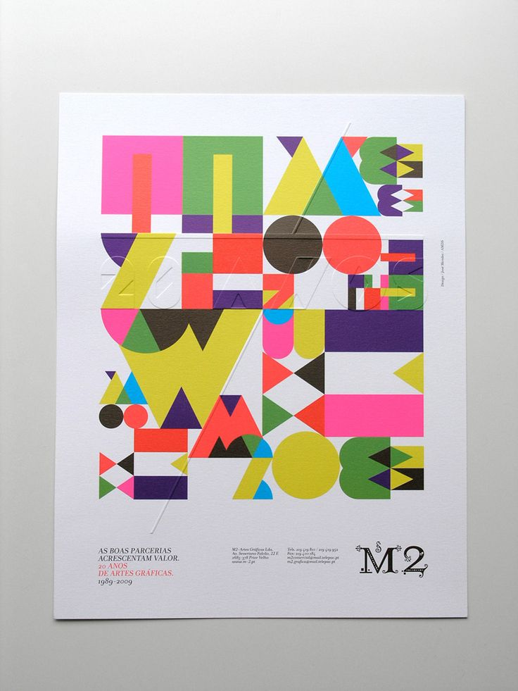 Press advertising M2 / 2009 | MAGA, via graphic design layout, identity systems and great type lock-ups. #poster #type
