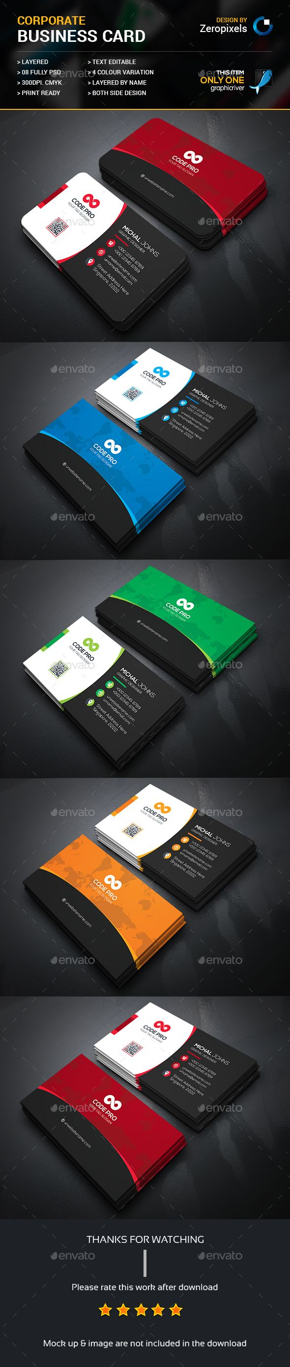 110 best Business Cards images on Pinterest | Business card design ...