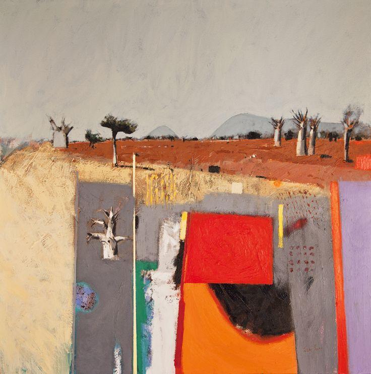 Venda Landscape, oil on canvas, 100 x100 cm