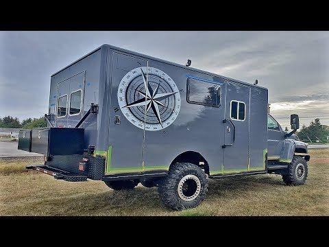 Matt And His Crew Took A Gmc Kodiak Ambulance Gutted It
