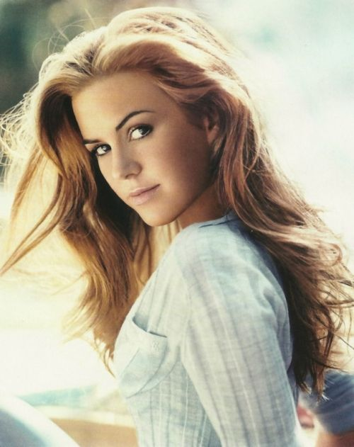 Isla Fisher I want her hair!!!