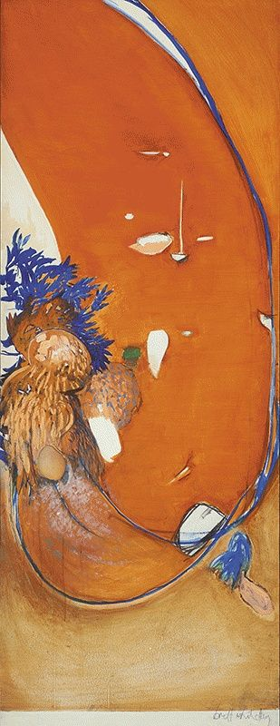 Little Orange, 1974, Brett Whiteley