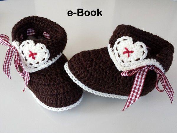 Tracht und Brauchtum sind ganz auf Deiner Linie? Dann häkle Deinem Baby auch passende Baby-Trachtenschuhe. Probiers gleich mal aus mit dieser Anleitung.