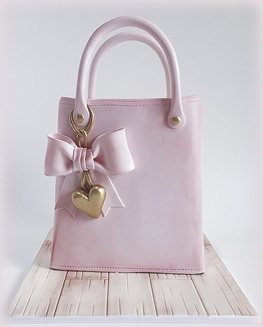 SugarEd Productions Online Classes- Handbag Cake