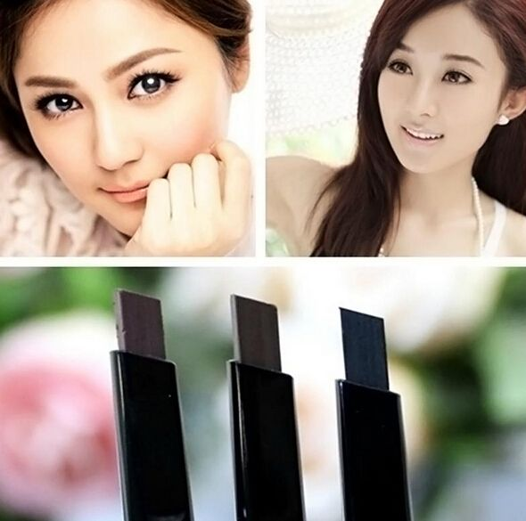 1 ST Wenkbrauwpotlood 5 Kleuren Make Cosmetische Eye Liner Wenkbrauwpotlood Beauty Tools Wenkbrauwpotlood M01099