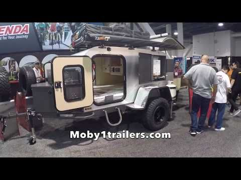 Off Road Teardrop Trailer by Moby1trailer at SEMA 2017 - YouTube