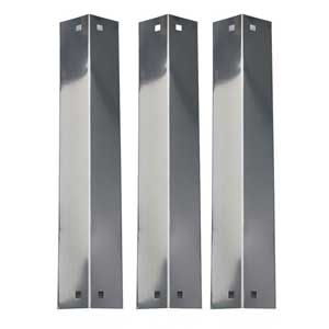 3 PACK REPLACEMENT STAINLESS STEEL HEAT SHIELD, VAPORIZOR BAR, AND FLAVORIZER BAR FOR CHARGRILLER GAS GRILL MODELS 3001, 4000, 5050, 5252, KING GRILLER 3008 5252 GAS GRILL MODEL Fits Compatible CHARGRILLER Models : 3001 , 3008 Chargriller , 3030 , 4000 Chargriller , 4208 , 5050 , 5252 Chargriller , Char-Griller 4000 For More Details @http://grillpartsgallery.com/shopexd.asp?id=33630&sid=20705