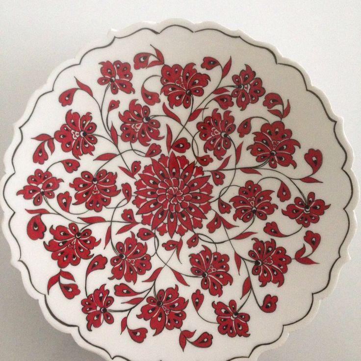 Çini lotus tabagım