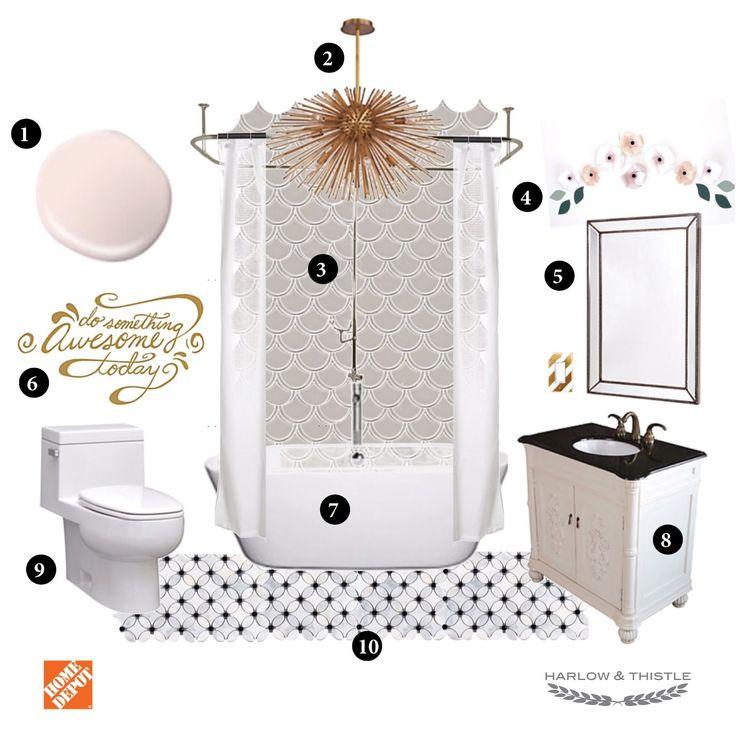 Blush Pink Bathroom Decor : Best ideas about teen bathroom girl on