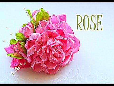 ❤Очень ценю Ваши ЛАЙКИ и КОММЕНТАРИИ!!! ❤СПАСИБО❤ В этом видео (канзаши мастер- класс) показано как сделать повязку с розой канзаши своими руками ~~~~~~~~~~~...