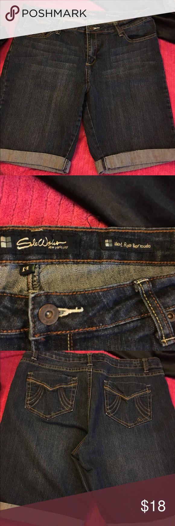 Best 25  Jeans bermuda damen ideas on Pinterest | gelbe Shorts ...