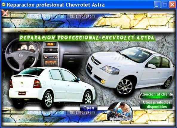 Manual De Taller Y Reparacion Profesional Chevrolet Astra 2002 2006