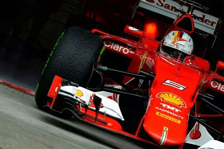 Sebastian Vettel. Scuderia Ferrari