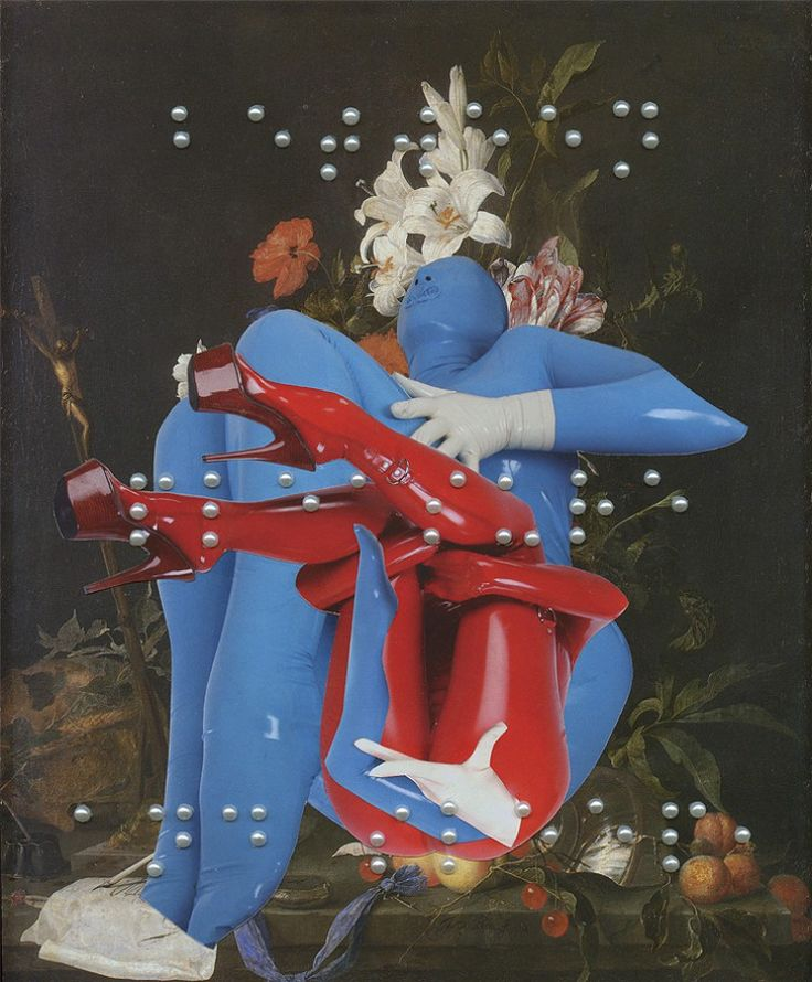 Ashkan Honarvar erotic collages