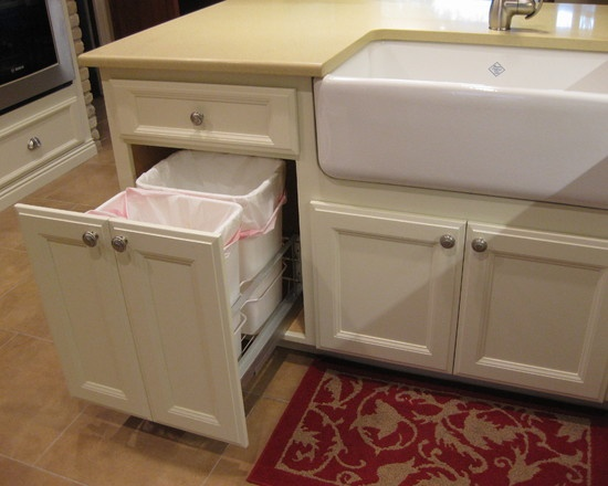 17 Best ideas about Contemporary Kitchen Trash Cans on