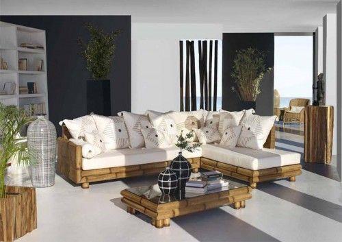 Descubre nuestro catalogo online para encontrar originales muebles de bambu para la decoracion de tu salon.