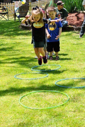 Lego Batman Activity Superhero Obstacle Course