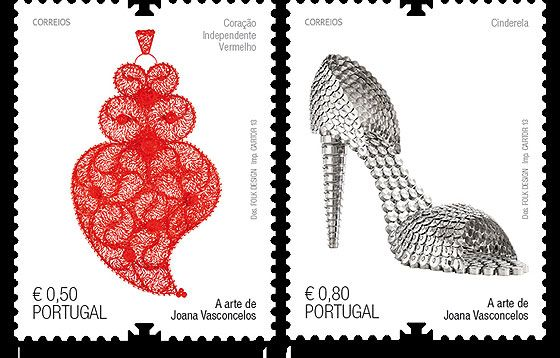 The Art of Joana Vasconcelos was issued in 2013 by the Portuguese Post. #fashion #shoes #stamps #portugal http://www.wopa-stamps.com/index.php?controller=country&action=stampProduct&id=9641