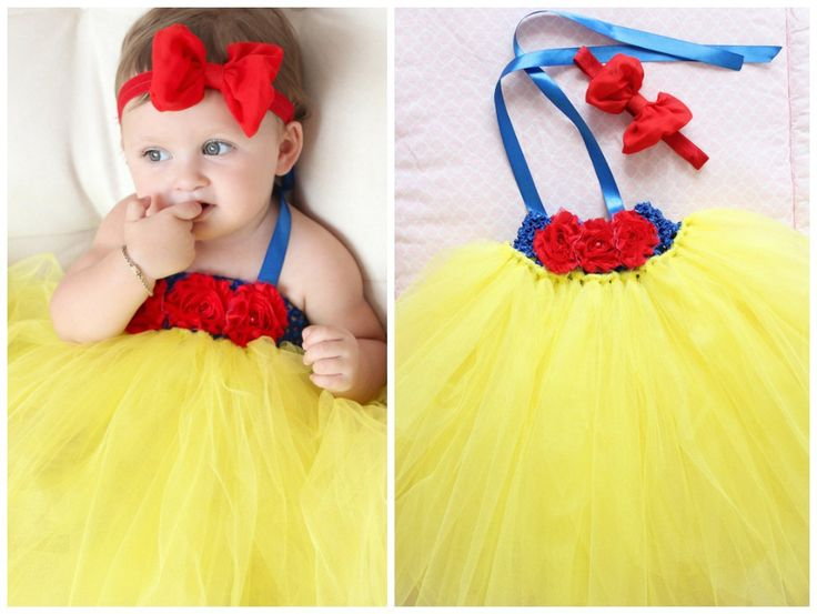 Snow White Baby Tutu Dress For Baby Girl