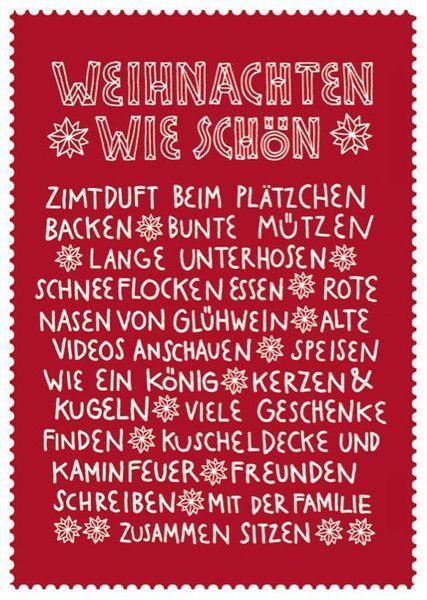 ♥♥♥ Larifari Postkarte Weihnachten wie schön ♥♥♥