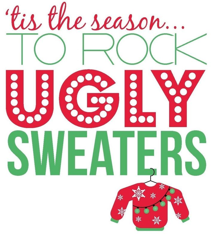 it's ugly sweater season come visit us Friday December 22 to see our ugly Christmas Sweater collection  bonaeye@telusplanet.net (403)271-2818