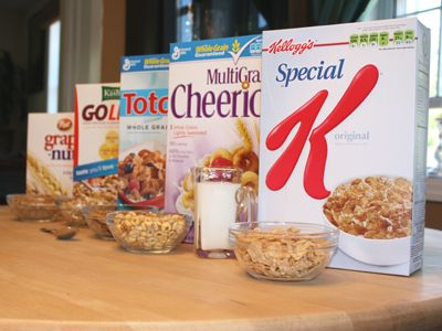 Healthy eats.. cereal ratings!