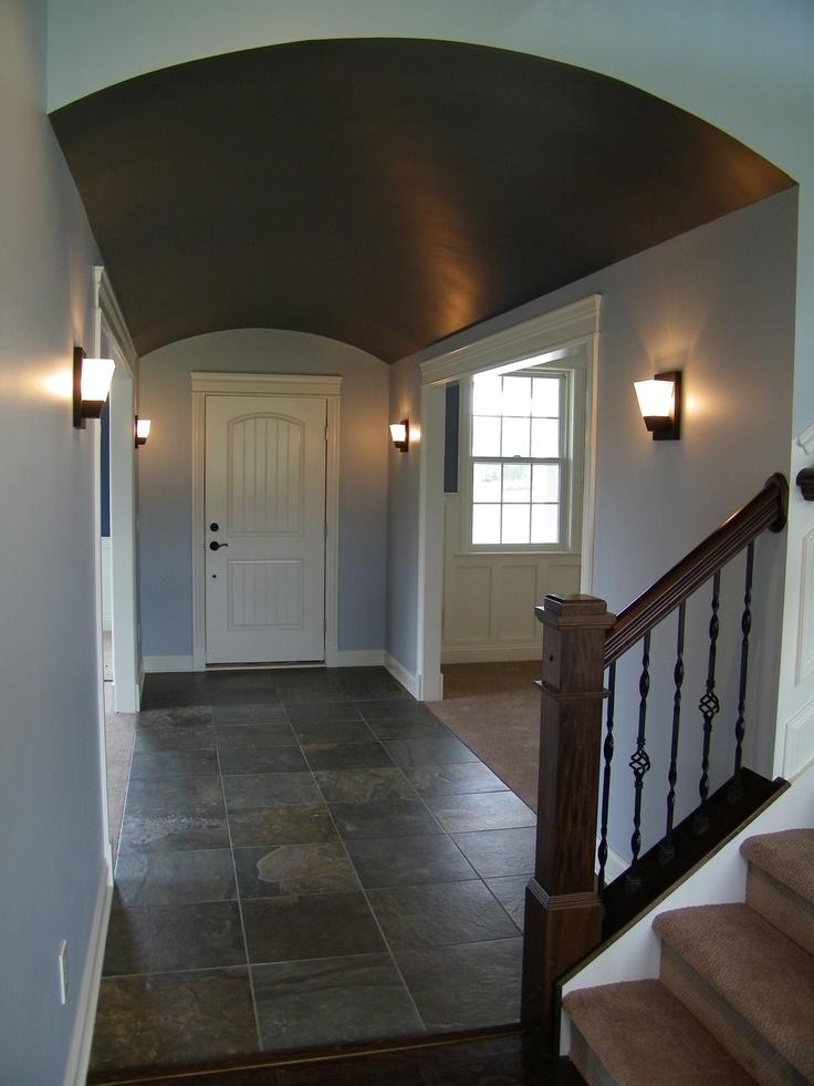 Notice the slate floor in foyer 15