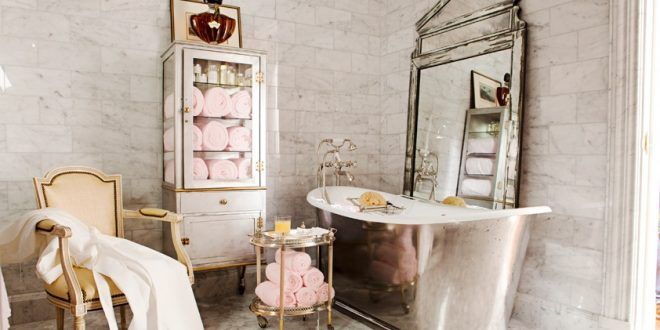ديكورات حمامات 2020 احدث صور حمامات جديدة فخمة Glamorous Bathroom French Country Bathroom French Bathroom Decor