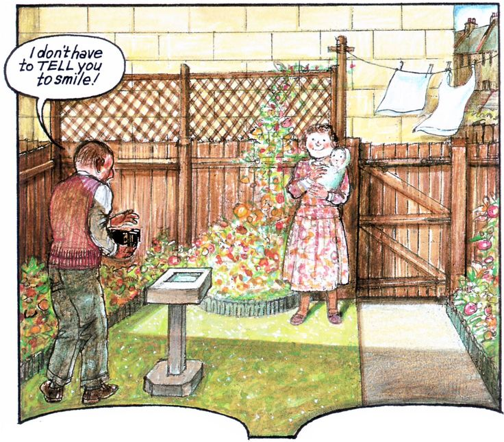 Raymond Briggs - Ethel & Ernest A True Story (about his father and mother) - Raymond is born in 1934 (p.24) (6 of 19)