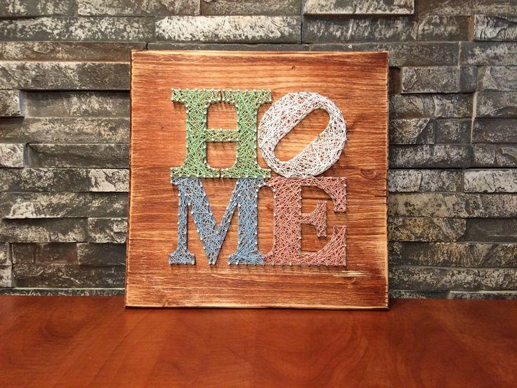 String Art - DIY - Home - Home sweet home