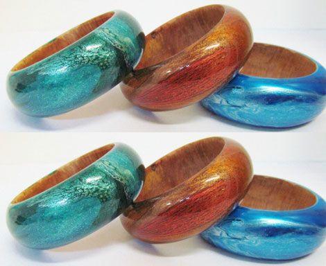 wood bangles